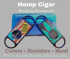 Hemp section for accessories